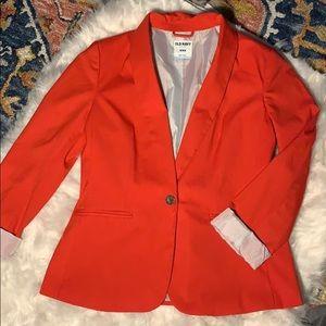 Old Navy coral blazer
